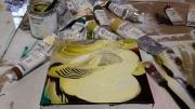 Williamsburg oils paint day