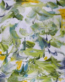 Evanescent Wavescape Green