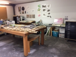 works on paper area