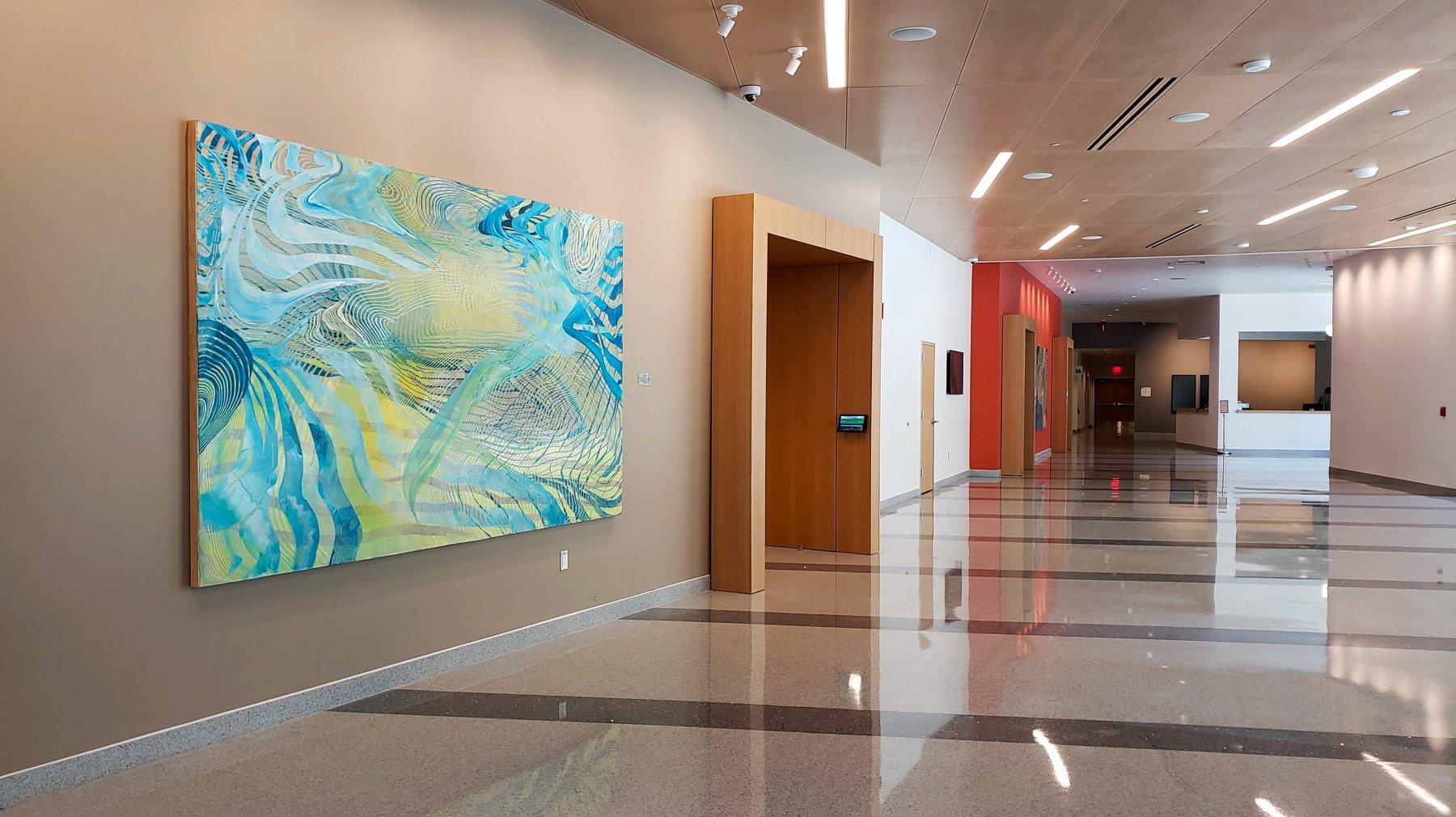 Wavelets, lobby view