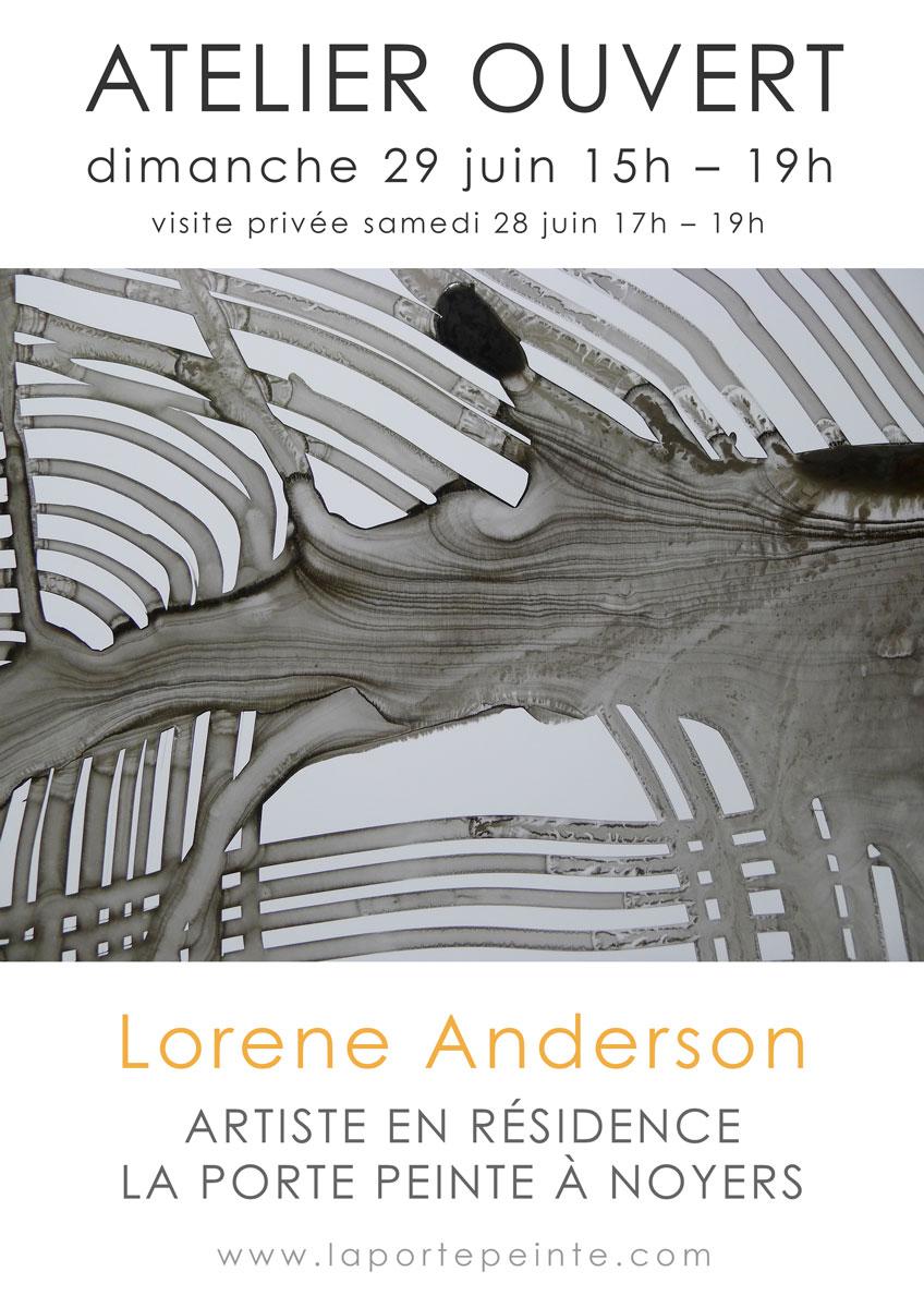 Last few days at La Porte Peinte art residency