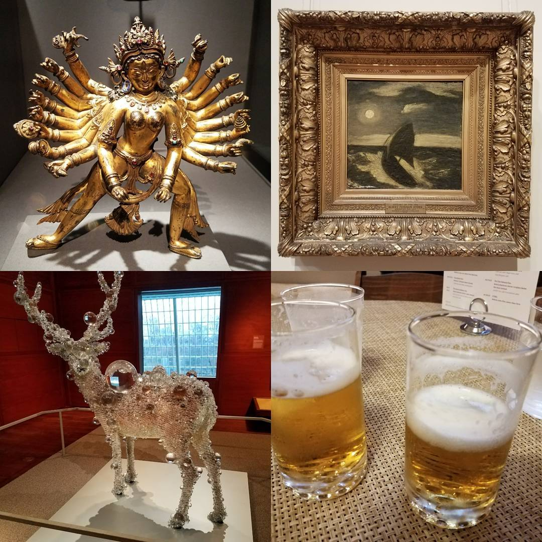 Art amp Beers at The Met themet balconybar fridayatthemet nyc