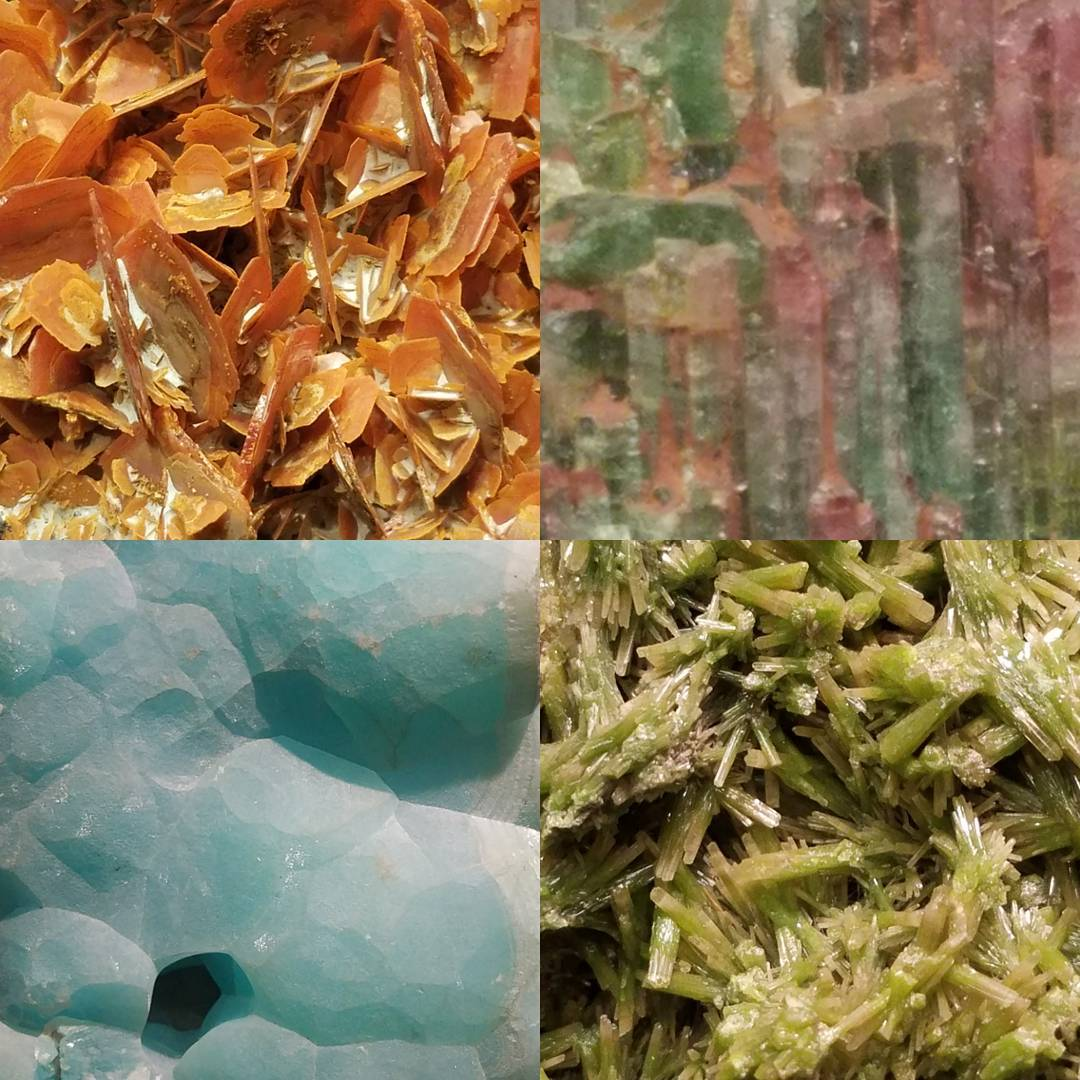 minerals amnh guggenheimhallofminerals